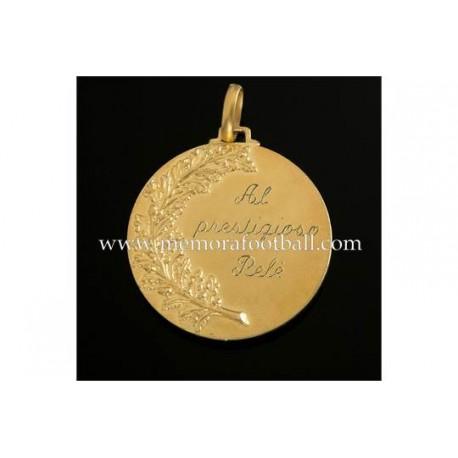 "Medalla de ""PELÉ"" 17 Junio 1967, Santos FC vs Montova FC"