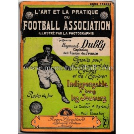 L´art et la pratique du Football Association (Francia 1920s)