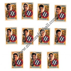 RCD Español 1954-55 cards