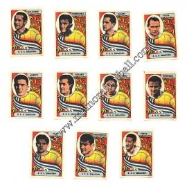 11 Cromos Real Sociedad 1954-55 equipo completo
