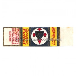 "Cromo de caramelo ""Futbol"" recortable del Celta de Vigo 1950s"