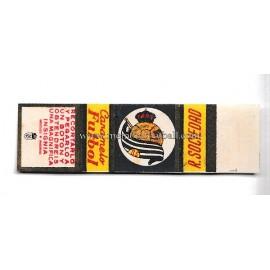 """Cromo de caramelo """"Futbol"""" recortable de la Real Sociedad 1950s"""