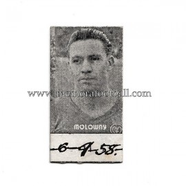 1958 Luis Molowny (Real Madrid CF) card