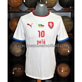 """Edson Arantes do Nascimento """"PELÉ"""" Camiseta original regalo de la selección Checa, 2012"""