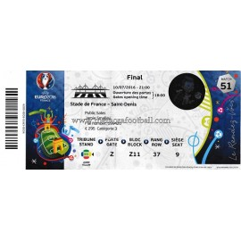 France vs Portugal 2016 UEFA European Football Championship ticket