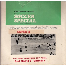 European Cup 1960 Final - Real Madrid vs Eintracht Frankfurt 8 mm home movie