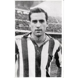 "José María ""ARGOITIA"" Athletic Club 1960s photo-card"