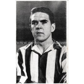 "José Antonio ""LATORRE"" Athletic Club 1960s foto-tarjeta"
