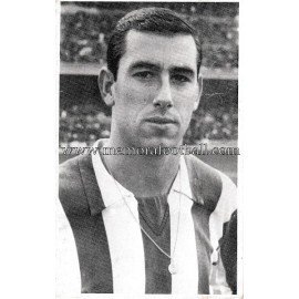 """ADELARDO"" Atlético de Madrid 1960s photo-card"