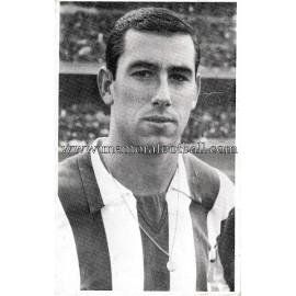 """ADELARDO"" Atlético de Madrid 1960s photo-card"