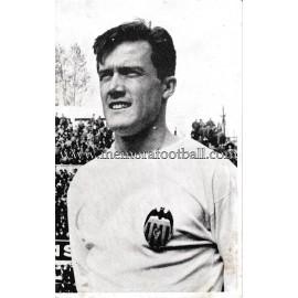 """""""ROBERTO"""" Valencia CF 1960s photo-card"""