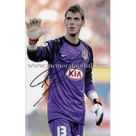 """DE GEA"" Atlético de Madrid signed photo"