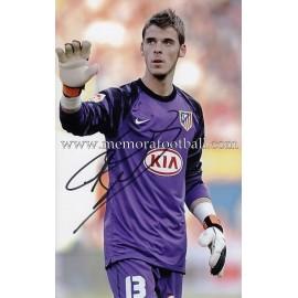 """""""DE GEA"""" Atlético de Madrid signed photo"""