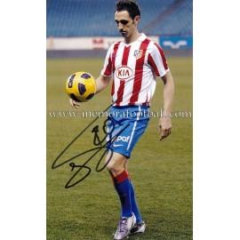 "Foto firmada de ""JUANFRAN"" Atlético de Madrid"