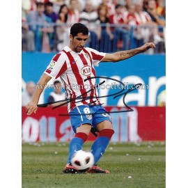 """RAÚL GARCÍA"" Atlético de Madrid signed photo"
