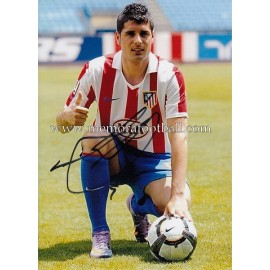 """FRAN MÉRIDA"" Atlético de Madrid signed photo"