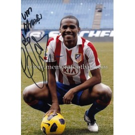 """ELÍAS"" Atlético de Madrid signed photo"