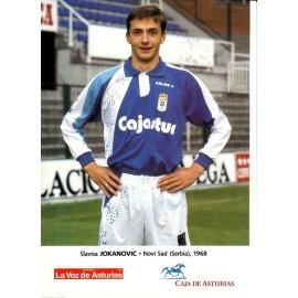27 fichas plantilla Real Oviedo 1993-94