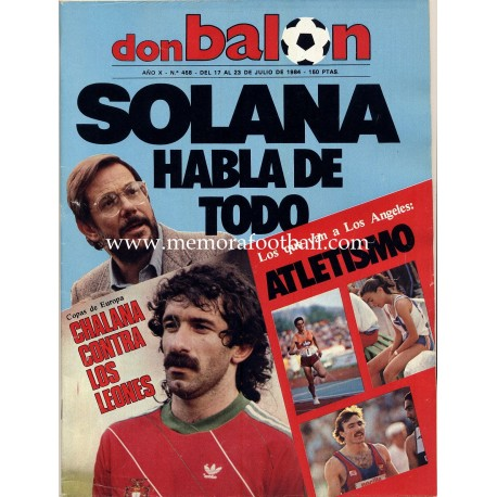 DON BALON (Spanish football magazine) Nº 458 17-23 July 1984