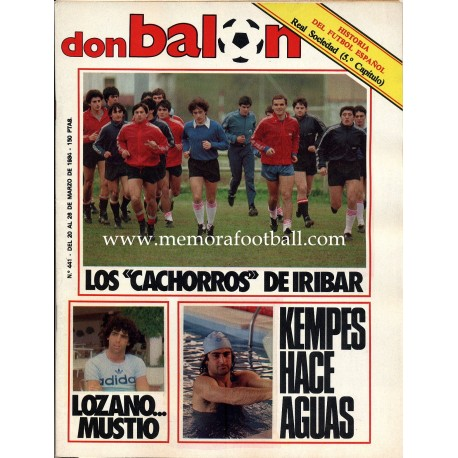 DON BALON (Spanish football magazine) nº441 20th-26th Mar 1984