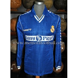 Real Madrid CF 1989-90 match worn shirt