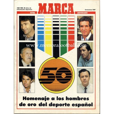 MARCA (Spanish football magazine) Extra 50 anniversary Dec 1987
