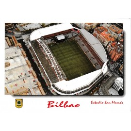 """San Mamés"" Stadium Athletic Club Bilbao postcard"