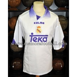 """ZE ROBERTO"" Real Madrid CF 1997-98 home match worn shirt"
