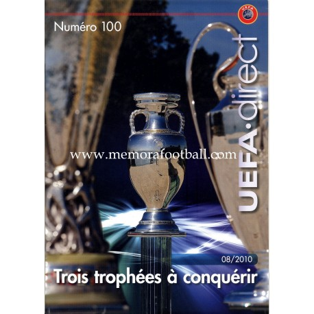 UEFA Direct (UEFA official magazine) nº100 August 2010