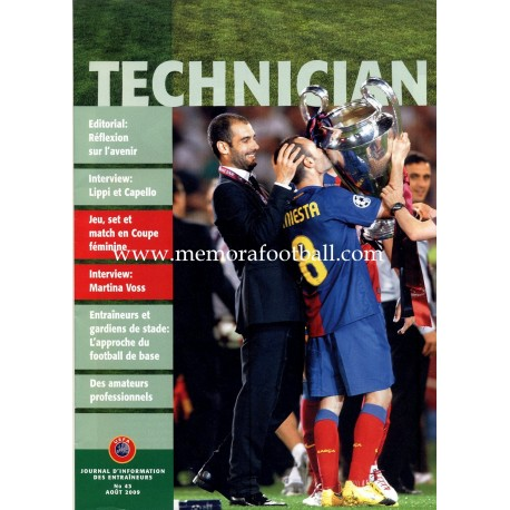 UEFA TECHNICIAN (UEFA official magazine) nº43 August 2009
