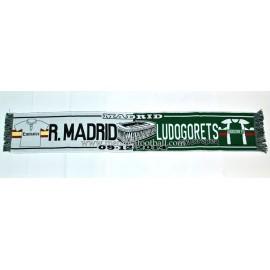 Real Madrid vs Ludogorets 09-12-2014 UEFA Champions League scarf