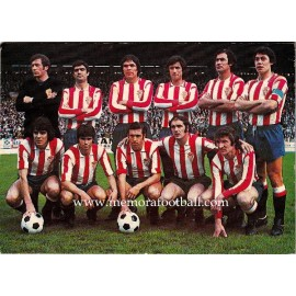 Sporting de Gijón Spanish League 1ª Division 1974-1975 football calendar
