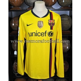 """Zlatan Ibrahimović"" FC Barcelona LFP away 2009-2010 match un worn shirt"