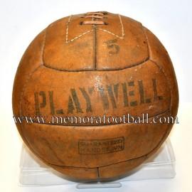 "Balón ""PLAYWELL"" c.1950 Reino Unido"