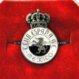 Real Club España (México) 1940s enamelled badge