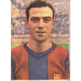 """MANCHÓN"" Barcelona C.F. 1950-1952 cromo"
