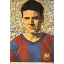 """BOSCH"" Barcelona C.F. 1950-1952 card"