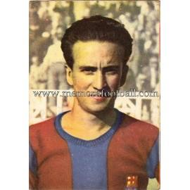 """""""BASORA"""" Barcelona C.F. 1950-1952 card"""