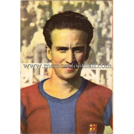"""BASORA"" Barcelona C.F. 1950-1952 cromo"
