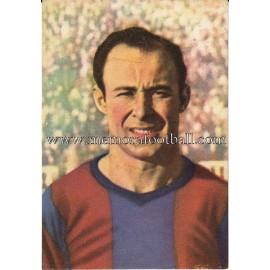 """""""CÉSAR"""" Barcelona C.F. 1950-1952 card"""