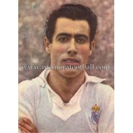 """PAHIÑO"" Real Madrid 1950-1952 card"