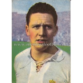 """MOLOWNY"" Real Madrid 1950-1952 card"