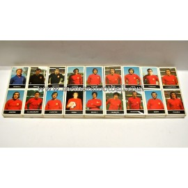 Collection of matchboxes of Spain National Team 1970s