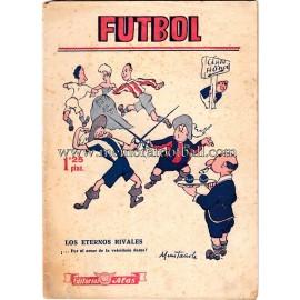 """""""FUTBOL"""" Spanish Magazine 1940s"""