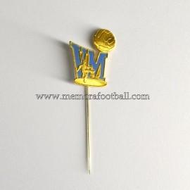 Insignia de aguja Campeonato Mundial del Fútbol Suecia 1958