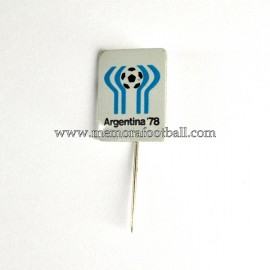 Insignia de aguja del Campeonato Mundial del Fútbol Argentina 1978