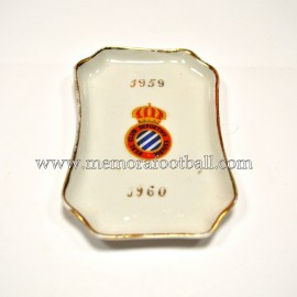 Bandejita del RCD Español 1959-60