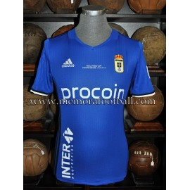 """ÓSCAR GIL"" Real Oviedo vs Nastic 04-12-2016 match worn shirt"