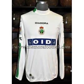 """OMRI AFEK"" Racing Santander 2003/04 match worn shirt"