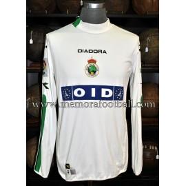 """OMRI AFEK"" Racing Santander 2003/04 match worn shirt"